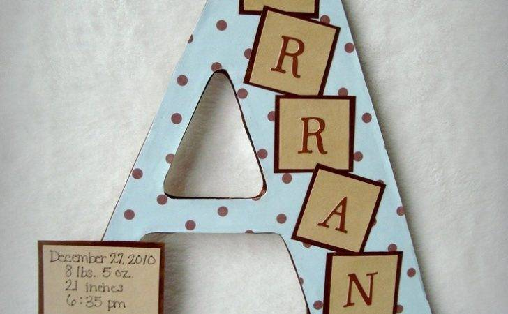 Custom Wood Letters Via Etsy Could Totally Make
