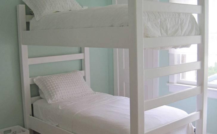 Custom Wooden Bunk Beds Built Design Ceiling Lights Small