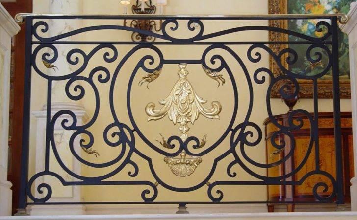 Custom Wrought Iron Interior Design