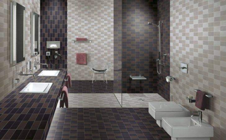 Cute Bathroom Tiles Decoration
