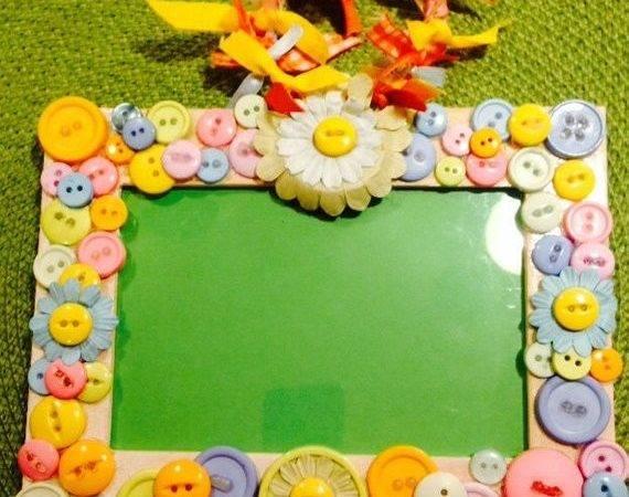 Cute Button Baby Frame Lifetimekeepsakesbyd