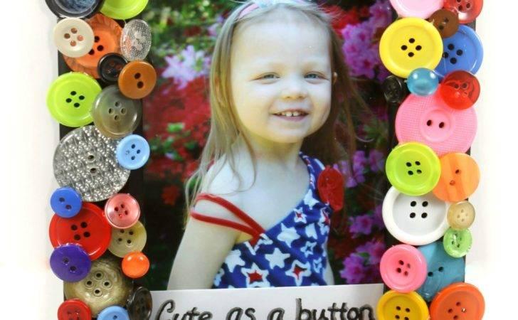 Cute Button Frame Pinterested Parent