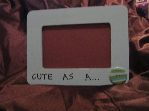 Cute Button Frame