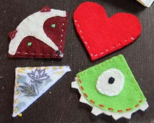 Cute Diy Bookmark Pals Valentine Day Shelterness
