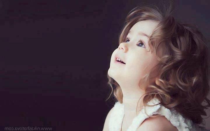 Cute Girl Dashing Innocent
