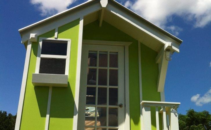 Cute Lime Green Sqr Tiny House Trekker Trailers Youtube
