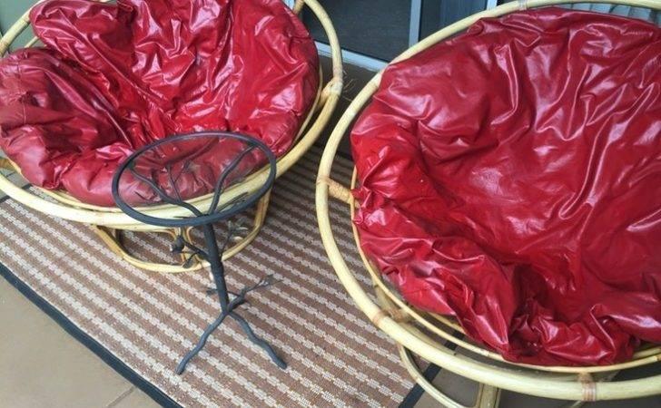 Cute Papasan Chairs Cushions University City San Diego County
