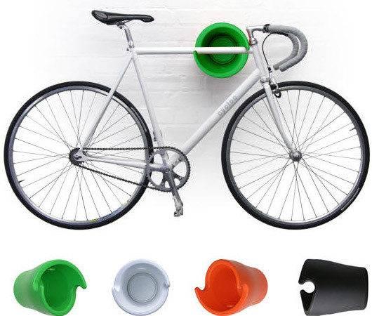 Cycloc Modern Wall Bike Rack Cycler