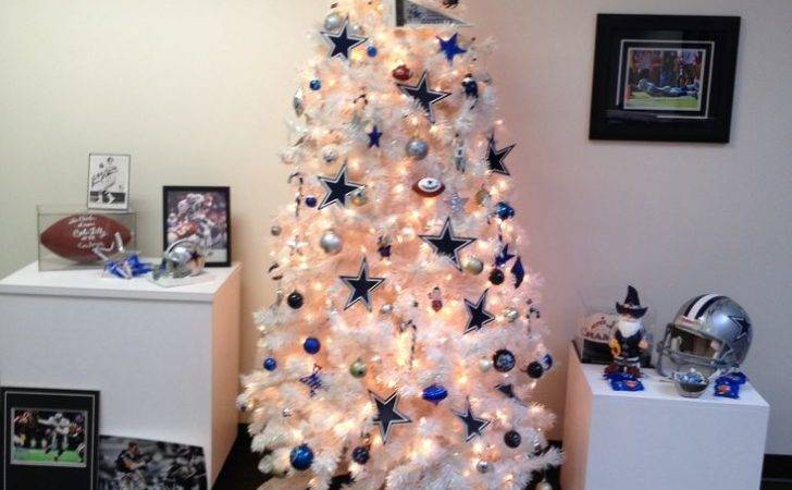 Dallas Cowboys Christmas Tree Pinterest