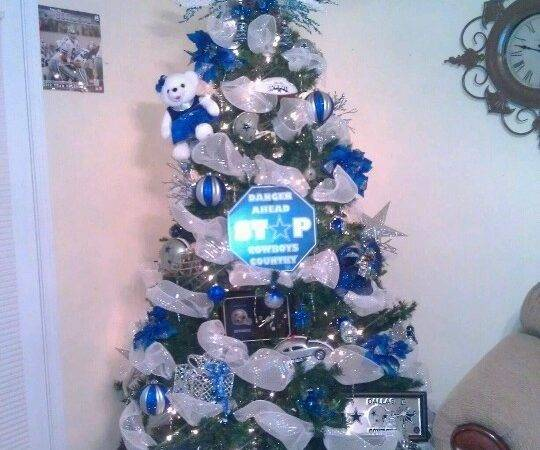 Dallas Cowboys Xmas Tree Pinterest