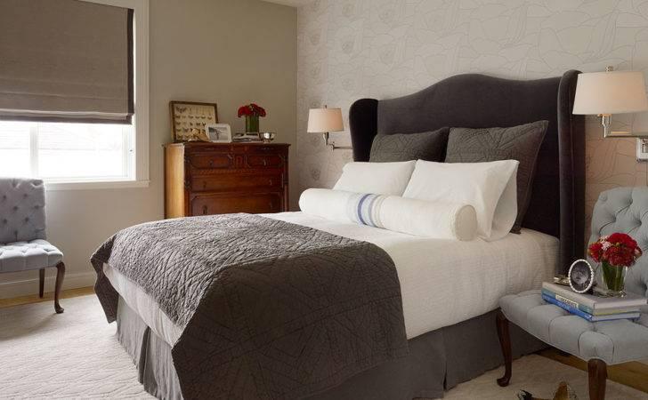 Daly Designs Gray Blue Bedroom