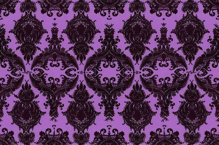 Damask Purple Design