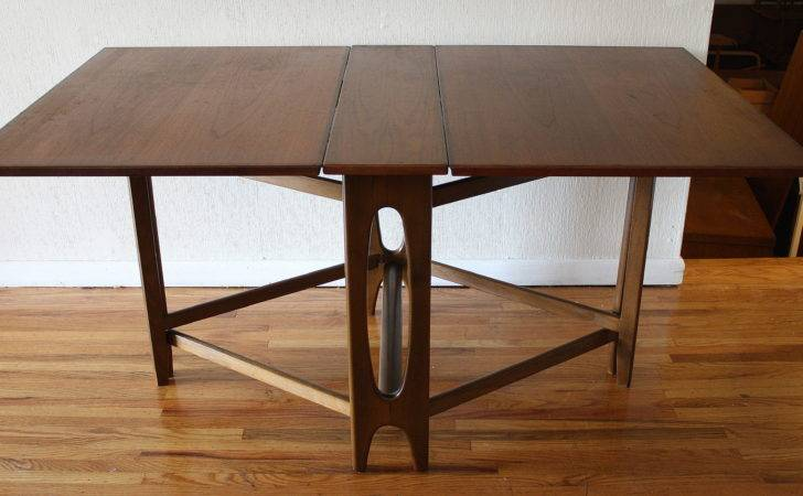 Danish Folding Dining Table Picked Vintage