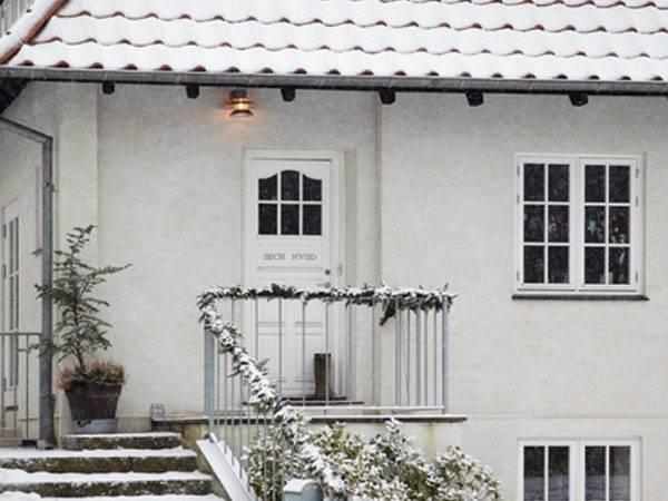 Danish House Christmas Decorations Winter Home Design