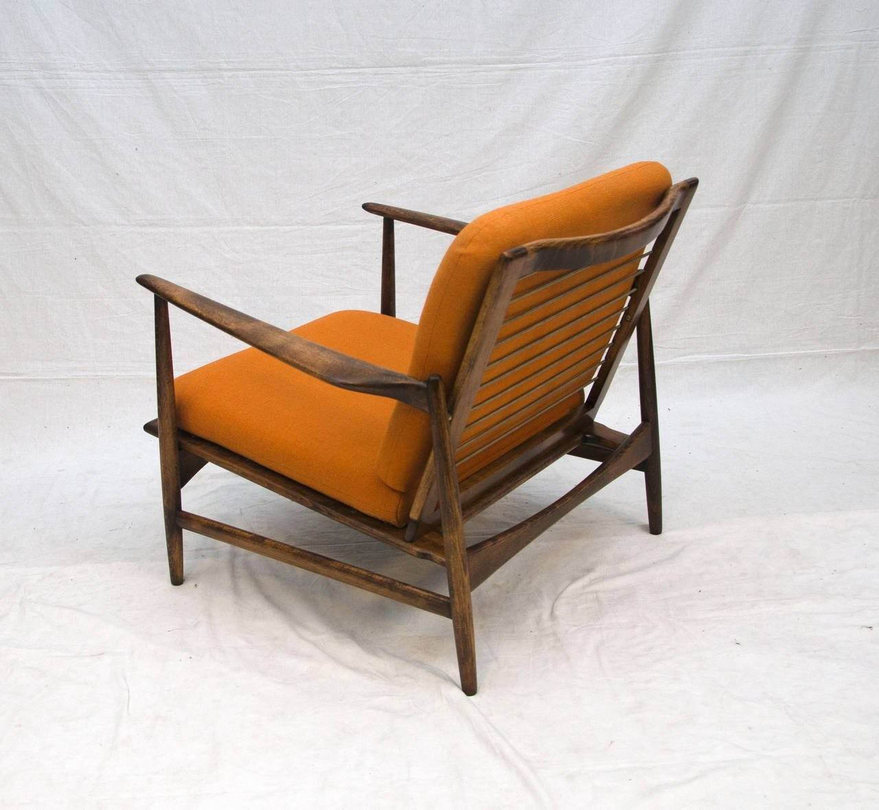 Danish Lounge Chair Selig Kofod Larsen Stdibs