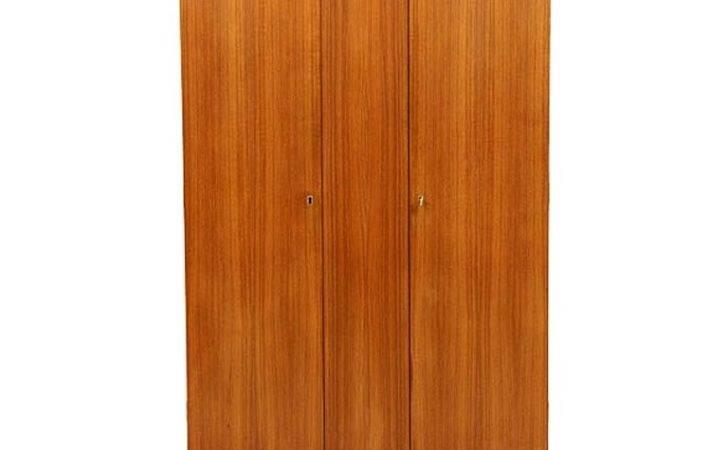 Danish Teak Door Wardrobe Stdibs