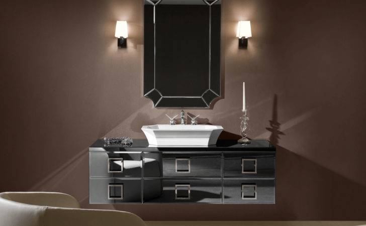 Daphne High End Italian Bathroom Vanity Mirrored Glass