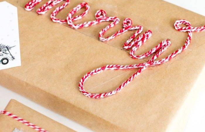 Darby Smart Gap Bakers Twine Gift Wrap Kit Flax