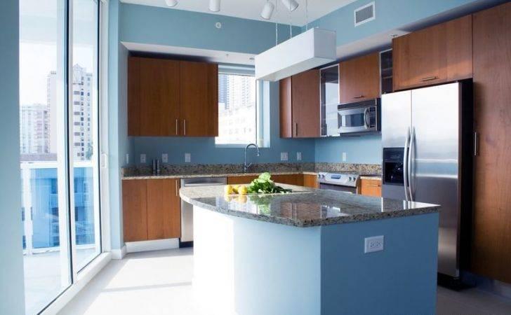 Dark Blue Kitchen Walls Navy Cabinets White Top