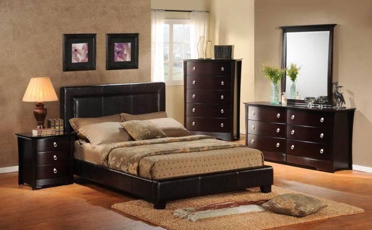 Dark Cherry Bedroom Furniture Design Decor Theme Ideas