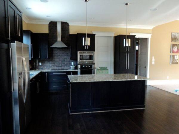 Dark Hardwood Floors Elegant Strong Choice Any Room
