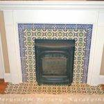David Fireplace Tile Mediterranean Living Room Tel Aviv