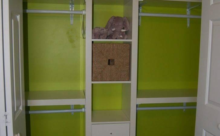 David Jen Max Custom Lime Green Nursery Closet