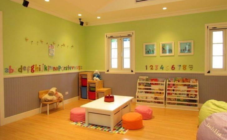 Daycare Center Floor Plan Layout Care Preschool Classroom
