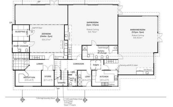 Daycare Floor Plans Floorplan Playroom Preschool