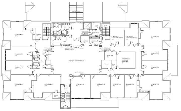 Daycare Floor Plans Plan Preschool Classroom