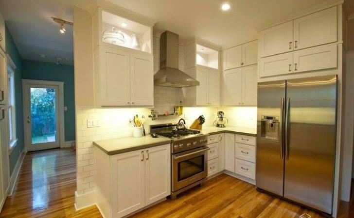 Dayton White Kitchen Cabinets Accented Slate