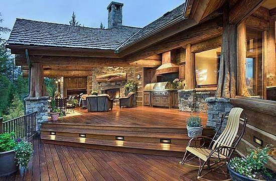 Deck Outdoor Kitchen Awesome Home Inspiration Pinterest