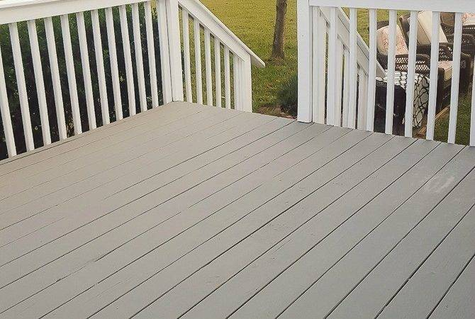 Deck Painted Deckover