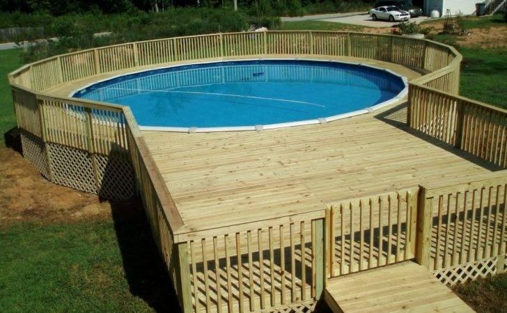 Deck Plans Design Pool Decks Ideas Above Ground