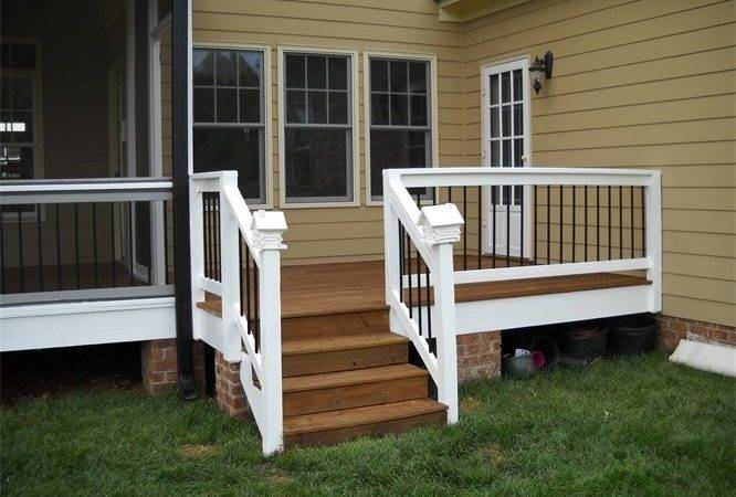 Deck Rails Painted Stained Steps Sealed Painting