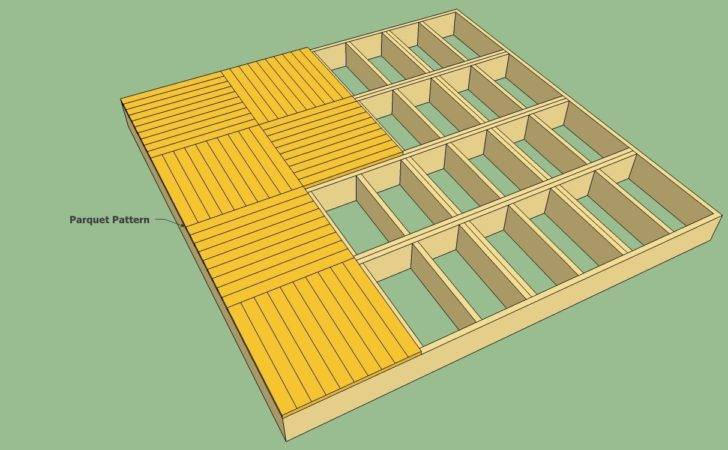 Decking Patterns Show Many Design Ideas
