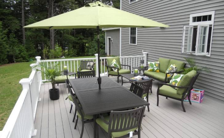 Decks Ideas Awesome House Grey Porches