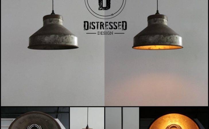Decor Lighting Ceiling Repurposed Milk Strainer Pendant Light