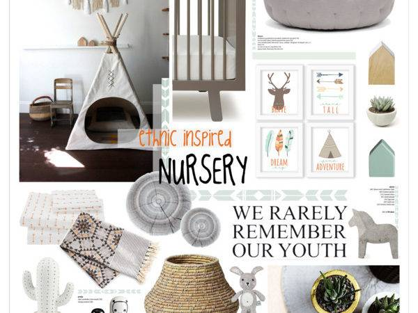 Decorate Ethnic Nordic Nursery Polyvore