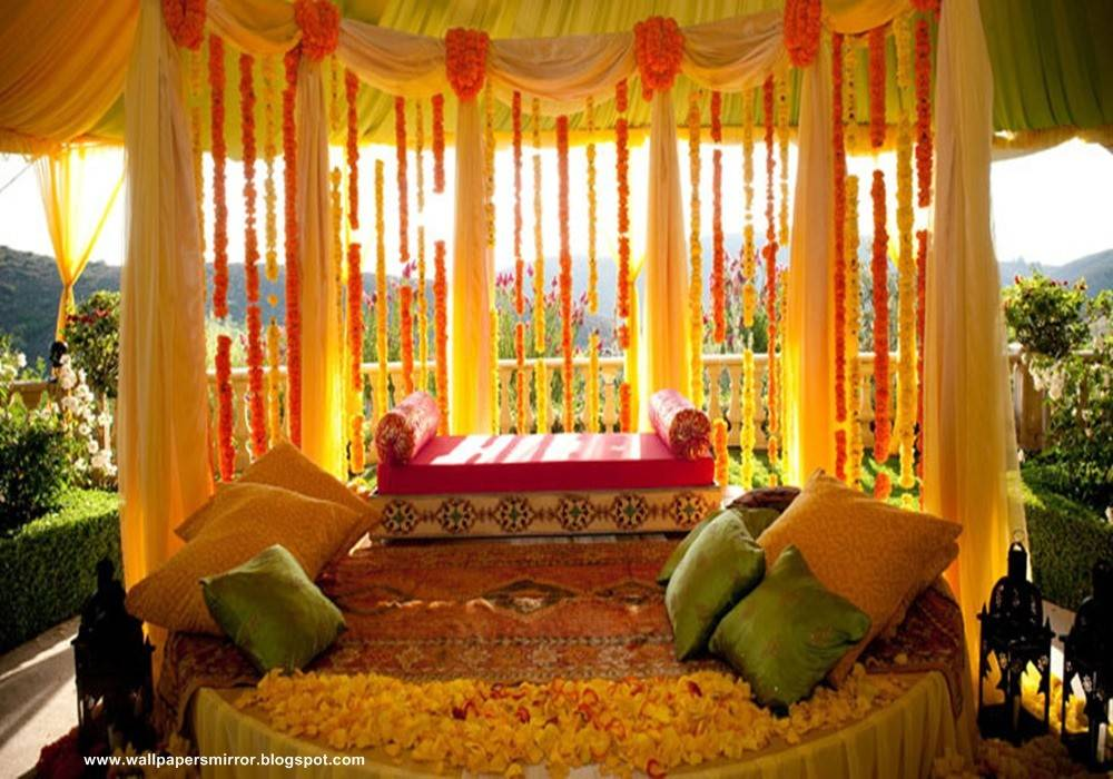 Decorate Room Beautiful First Wedding Night Sri