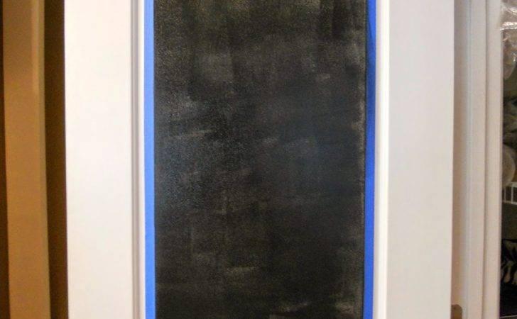 Decorating Cents Chalkboard Pantry Door
