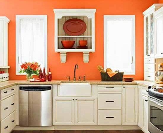 Decorating Color Combinations Orange Kitchen Paint Filmesonline