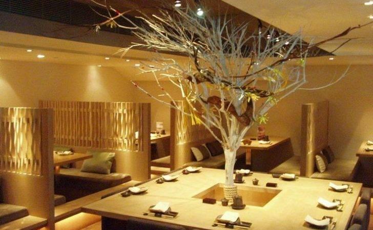 Decorating Fascinating Japanese Restaurant Modern Design Ideas Indoor