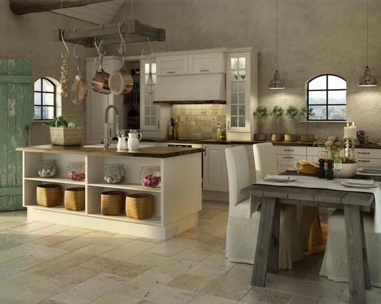 Decorating Modern Mediterranean Kitchen Jerry Enos Painting