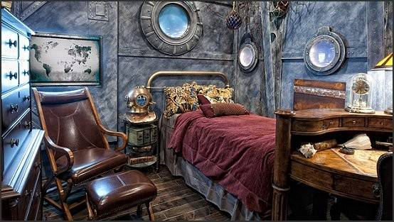 Decorating Theme Bedrooms Maries Manor Steampunk Ideas