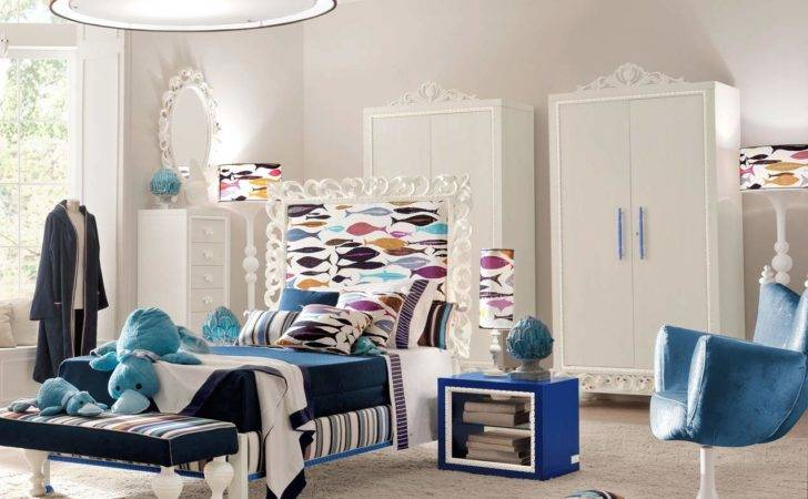 Decoration Cool Luxury Contemporary Kids Bedroom Furniture