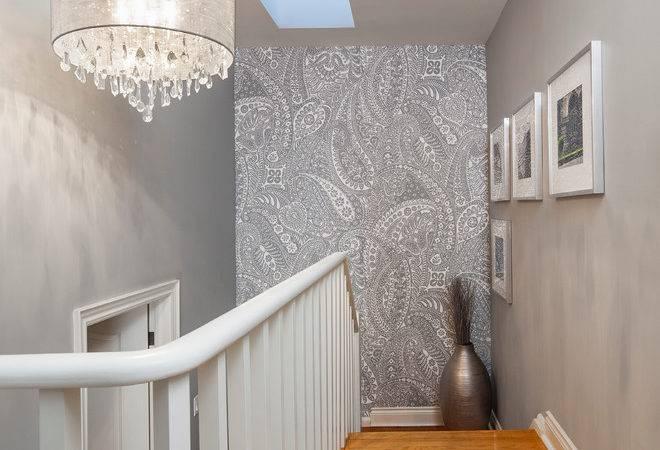 Decoration Stairway Landing Via