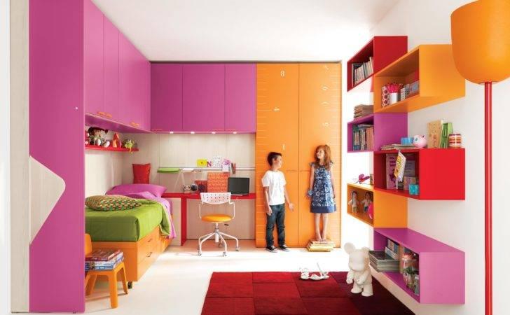 Decorations Beautiful Color Kids Room Purple Wall Paint