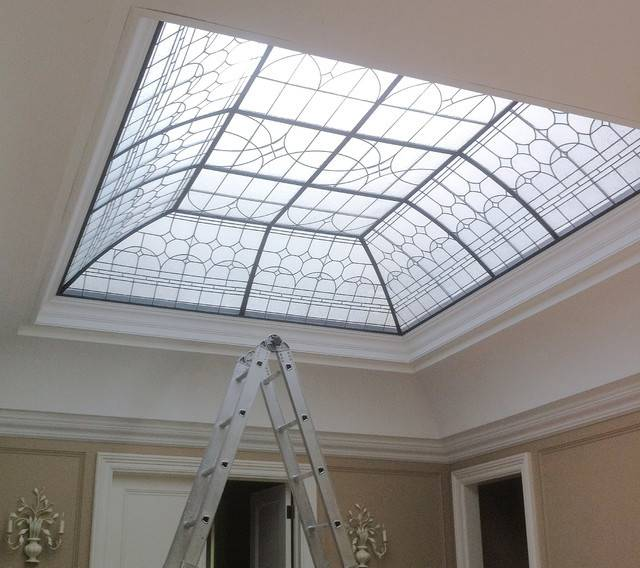 Decorative Ceiling Lens Traditional Skylights Toronto