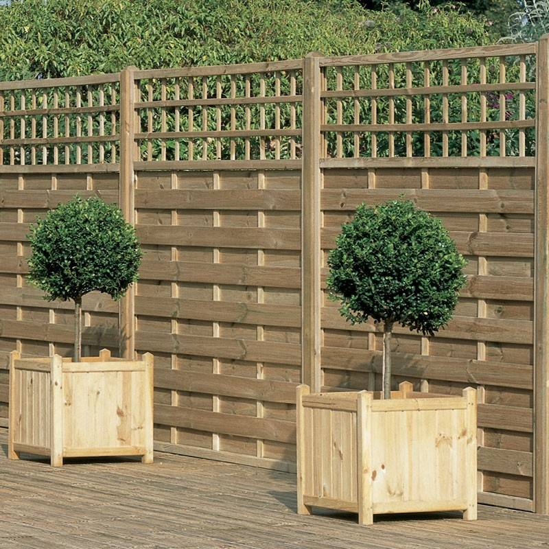 Decorative Garden Fencing Panels